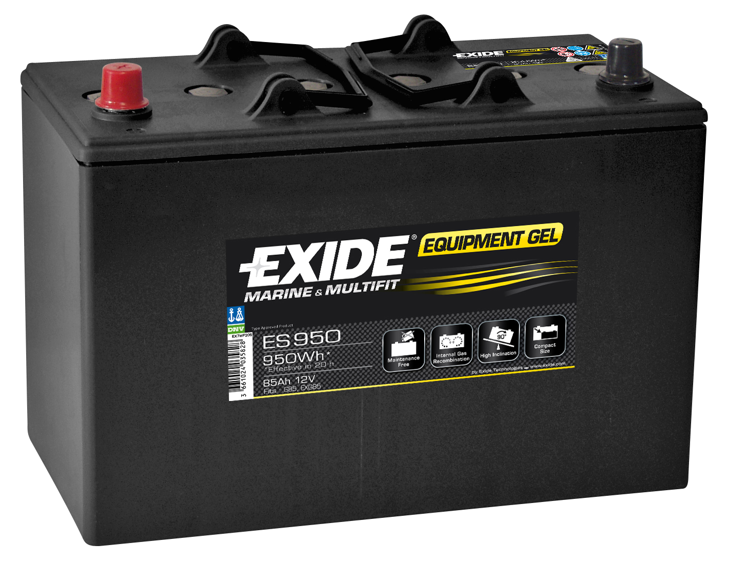 ES950 EXIDE EQUIPMENT GEL